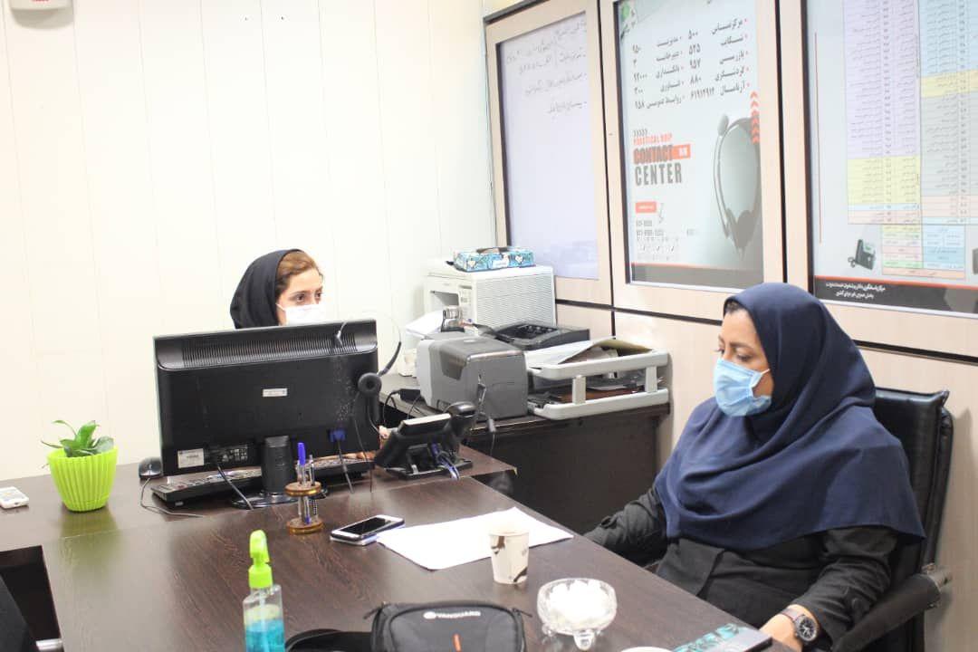 میرزابیگی :مرکز کال سنتر کانون کشوری پیشخوان دولت پیشرو در فرآیند پاسخگویی به مشتریان
